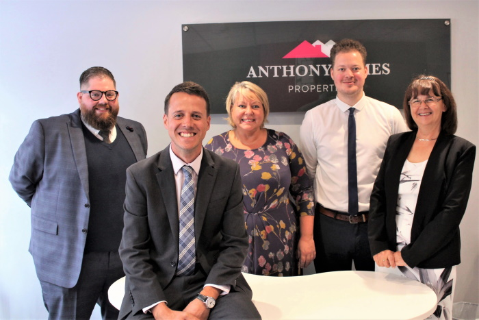 Photo of team at Anthony James Properties